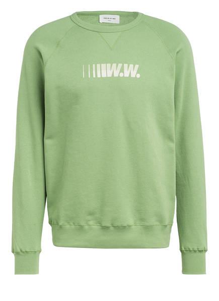 WOOD WOOD Sweatshirt HESTER, Farbe: GRÜN (Bild 1)