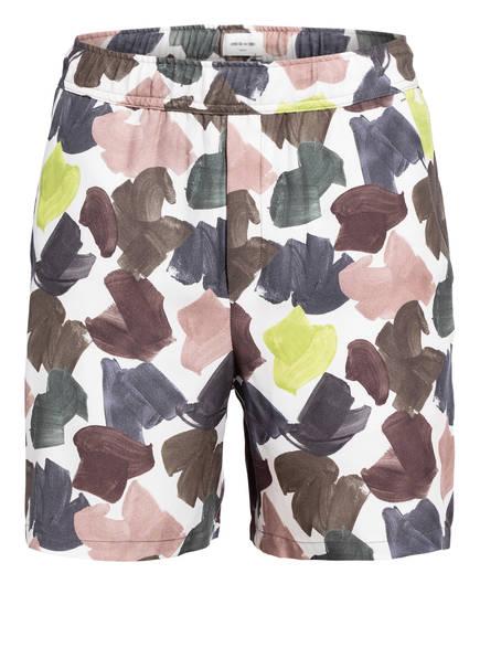 WOOD WOOD Shorts HAMILTON , Farbe: WEISS/ DUNKELBLAU/ DUNKELGRÜN (Bild 1)