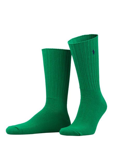 POLO RALPH LAUREN Socken , Farbe: 004 GREEN D27 (Bild 1)