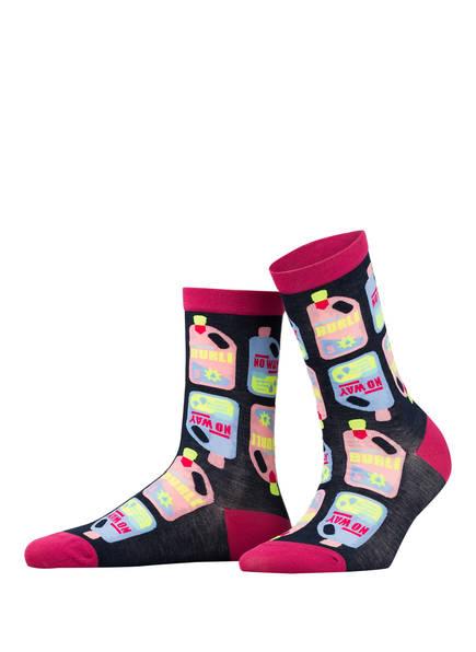 Burlington Socken FASHION, Farbe: 6120 MARINE (Bild 1)
