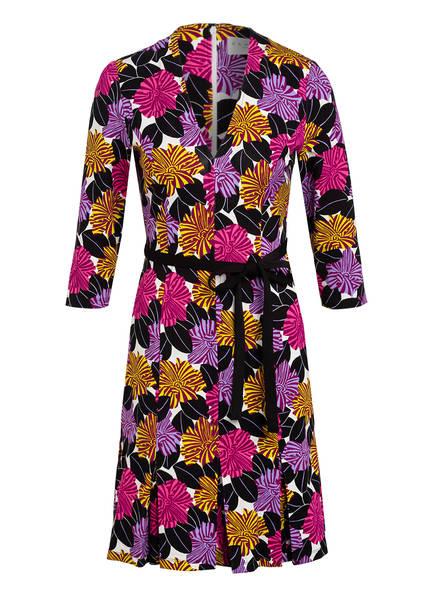 damsel in a dress Kleid MARI mit 3/4-Arm, Farbe: SCHWARZ/ LILA/ FUCHSIA (Bild 1)