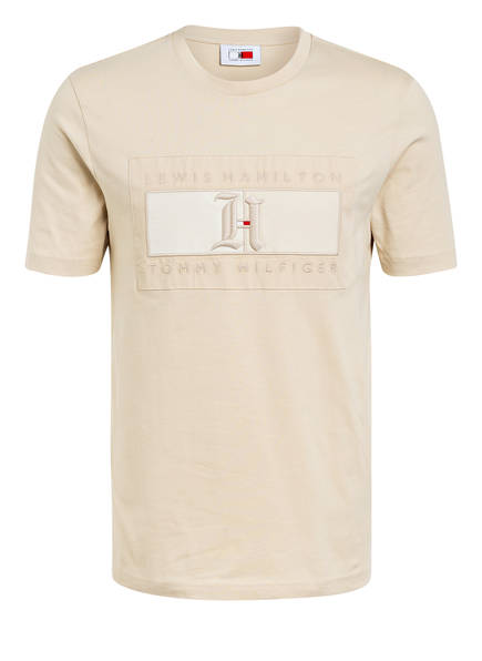 TOMMY HILFIGER T-Shirt, Farbe: BEIGE (Bild 1)