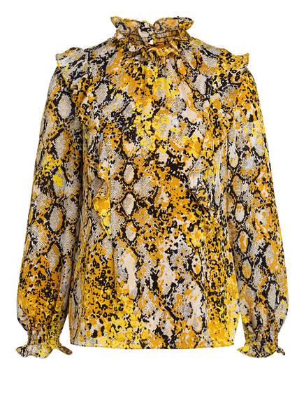 damsel in a dress Bluse NAIA, Farbe: DUNKELGELB (Bild 1)