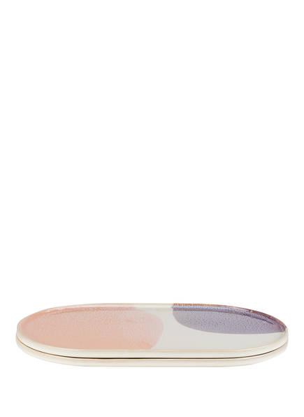 HK living 2er-Set Servierplatten, Farbe: HELLGRAU/ LILA/ HELLROSA (Bild 1)
