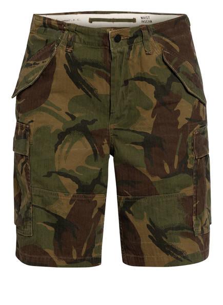 POLO RALPH LAUREN Cargo-Shorts, Farbe: GRÜN/ BRAUN (Bild 1)