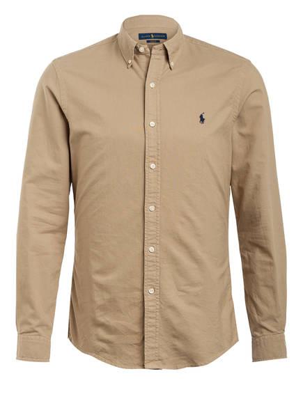POLO RALPH LAUREN Hemd Slim Fit, Farbe: BEIGE (Bild 1)