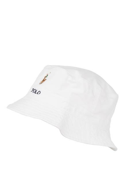 POLO RALPH LAUREN Bucket-Hat, Farbe: WEISS (Bild 1)
