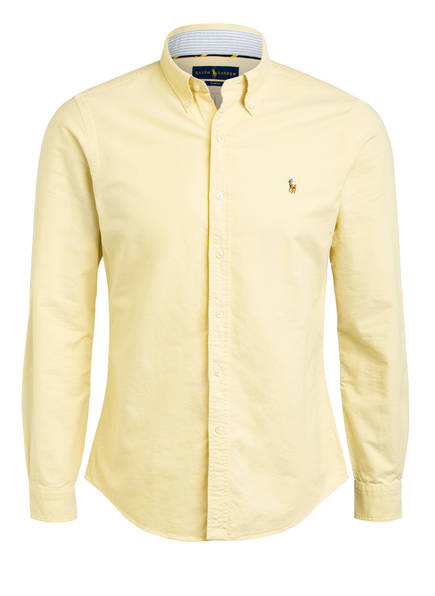 POLO RALPH LAUREN Hemd Slim Fit, Farbe: HELLGELB (Bild 1)