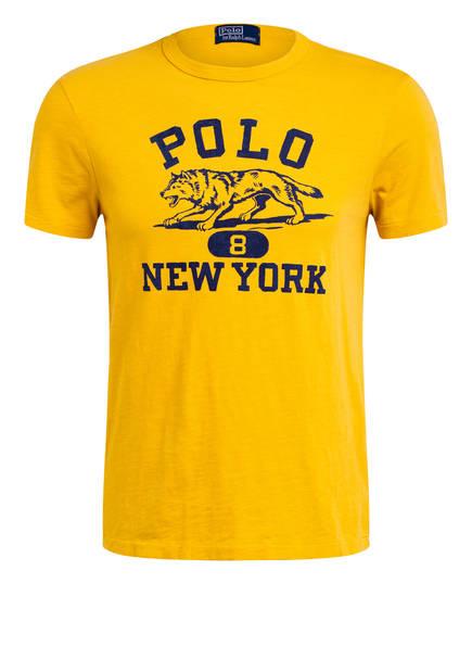 POLO RALPH LAUREN T-Shirt , Farbe: DUNKELGELG (Bild 1)
