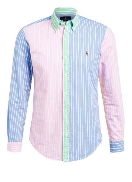 POLO RALPH LAUREN Hemd Slim Fit, Farbe: HELLBLAU/ ROSA/ GRÜN (Bild 1)