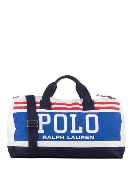 POLO RALPH LAUREN Reisetasche, Farbe: WEISS/ BLAU/ ROT (Bild 1)