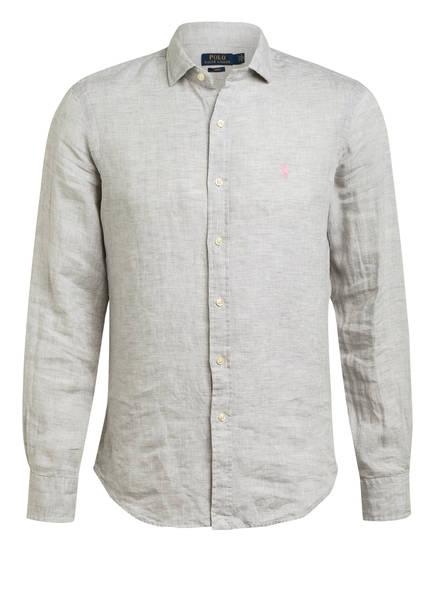 POLO RALPH LAUREN Leinenhemd Slim Fit, Farbe: GRAU (Bild 1)
