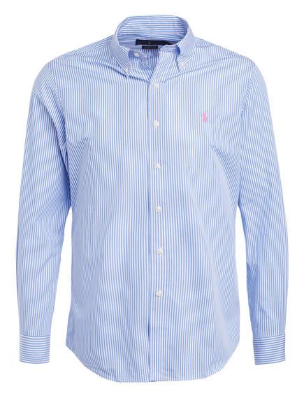 POLO RALPH LAUREN Hemd Custom Fit, Farbe: HELLBLAU/ WEISS (Bild 1)