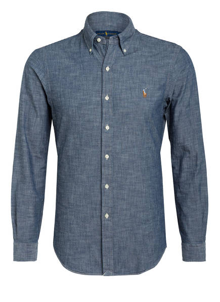 POLO RALPH LAUREN Hemd Slim Fit , Farbe: BLAU (Bild 1)