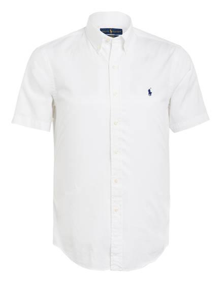 POLO RALPH LAUREN Halbarm-Hemd Slim Fit, Farbe: WEISS (Bild 1)