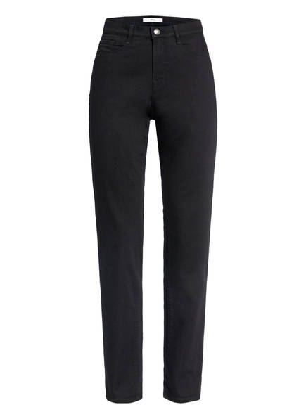 BRAX Mom Jeans CAROLA mit Swarovski Kristallen, Farbe: BLACK (Bild 1)