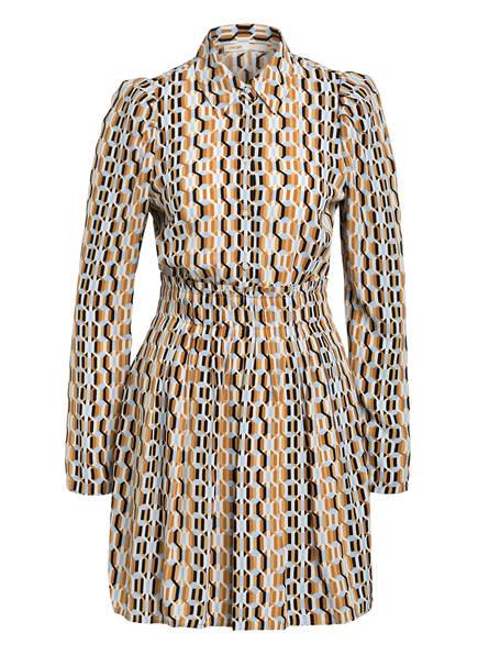 maje Kleid RIKOLE, Farbe: HELLBRAUN/ SCHWARZ/ CREME (Bild 1)