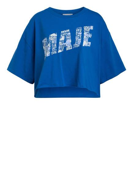 maje Cropped-Shirt TIKE, Farbe: BLAU (Bild 1)
