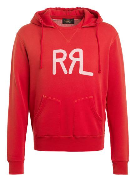 RRL Hoodie, Farbe: ROT (Bild 1)
