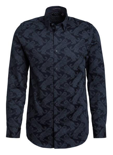 TED BAKER Hemd GETOUT Slim Fit , Farbe: DUNKELBLAU/ GRAU (Bild 1)