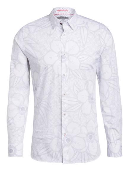 TED BAKER Hemd GOGIRL Slim Fit , Farbe: WEISS/ DUNKELBLAU (Bild 1)