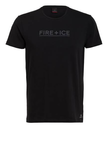 FIRE+ICE T-Shirt FOX, Farbe: SCHWARZ (Bild 1)