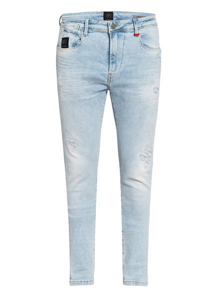 ER ELIAS RUMELIS Destroyed Jeans ERNICO Slim Fit, Farbe: WINDY BLUE (Bild 1)