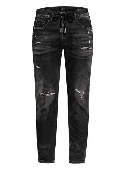 ER ELIAS RUMELIS Destroyed Jeans Comfort Fit, Farbe: SLASH BLACK (Bild 1)