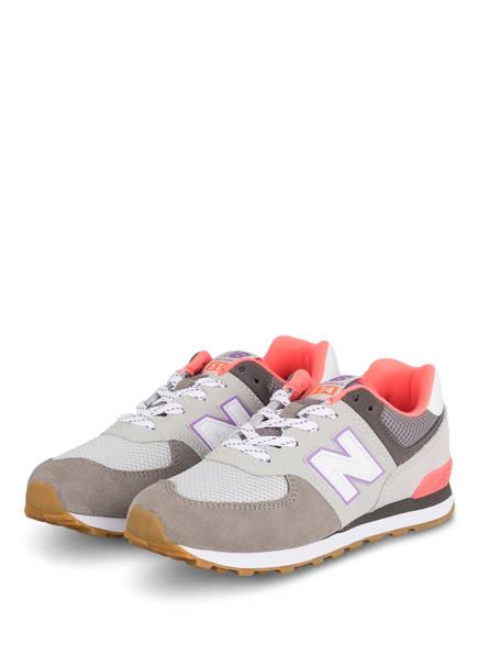 new balance Sneaker 574, Farbe: GRAU/ PINK (Bild 1)