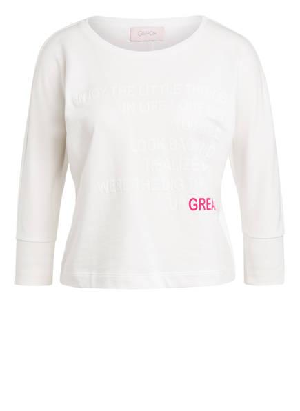 CARTOON Sweatshirt mit 3/4-Arm, Farbe: WEISS (Bild 1)