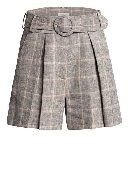 sandro Shorts mit Leinen, Farbe: GRAU/ BEIGE (Bild 1)