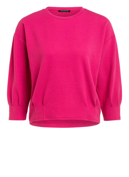 ONE MORE STORY Pullover mit 3/4-Arm, Farbe: PINK (Bild 1)