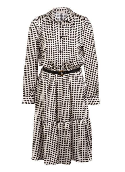 RINASCIMENTO Kleid mit Volantbesatz, Farbe: CREME/ SCHWARZ (Bild 1)