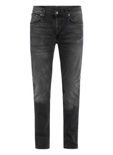 Nudie Jeans Jeans LEAN DEAN Slim Fit, Farbe: MONO GREY (Bild 1)