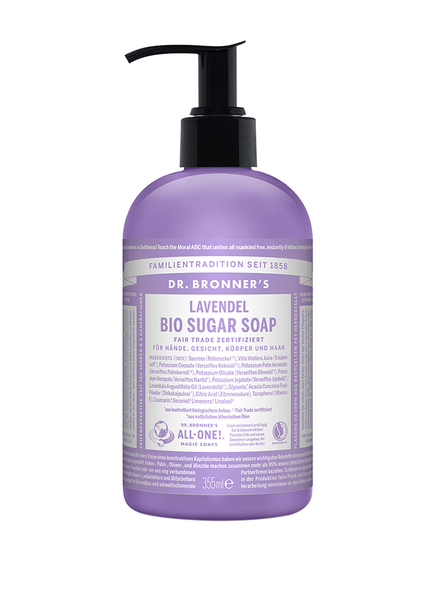 DR. BRONNER'S BIO SUGAR SOAP LAVENDEL (Bild 1)