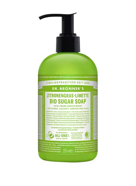 DR. BRONNER'S BIO SUGAR SOAP ZITRONENGRAS-LIMETTE (Bild 1)