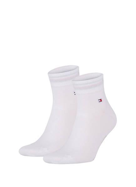 TOMMY HILFIGER 2er-Pack Sneakersocken, Farbe: 300 WHITE (Bild 1)