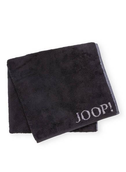 JOOP! Duschtuch CLASSIC DOUBLEFACE , Farbe: SCHWARZ/ GRAU (Bild 1)