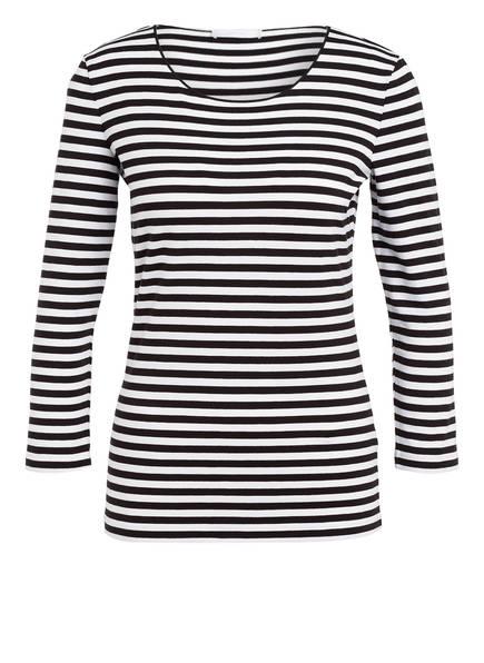 BOSS Shirt mit 3/4-Arm, Farbe: SCHWARZ/ WEISS (Bild 1)
