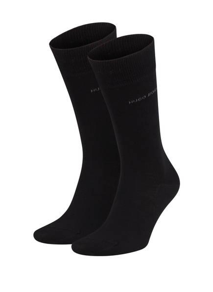 BOSS 2er-Pack Socken , Farbe: 001 BLACK (Bild 1)