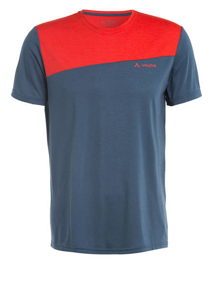 VAUDE T-Shirt SVEIT, Farbe: BLAU/ ROT (Bild 1)