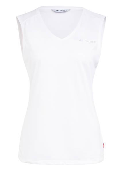 VAUDE Funktionsshirt ESSENTIAL, Farbe: WEISS (Bild 1)