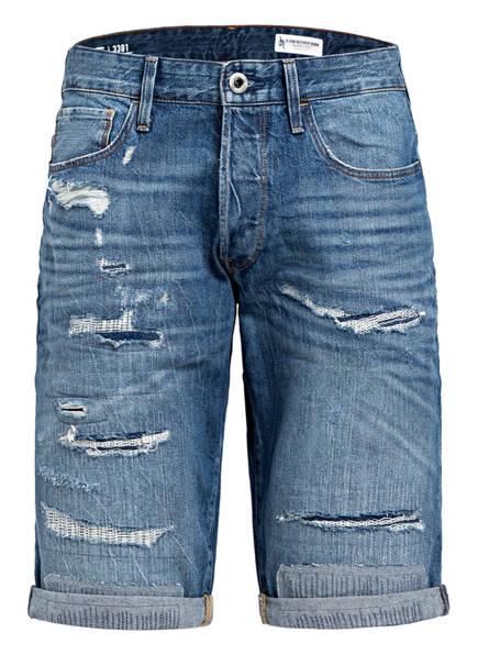 G-Star RAW Jeans-Shorts, Farbe: B166 FADED RIPPED SHORE (Bild 1)