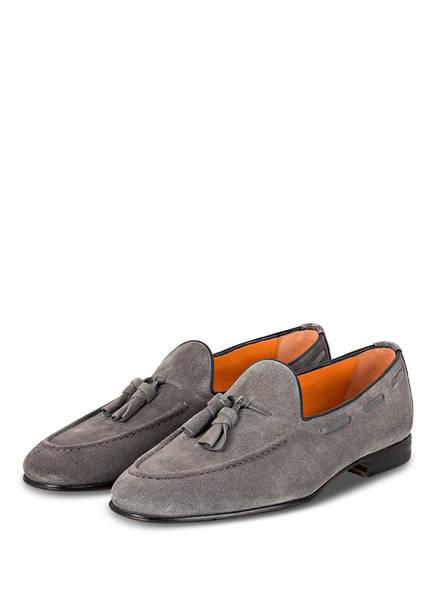 Santoni Tassel-Loafer CARLOS, Farbe: GRAU (Bild 1)