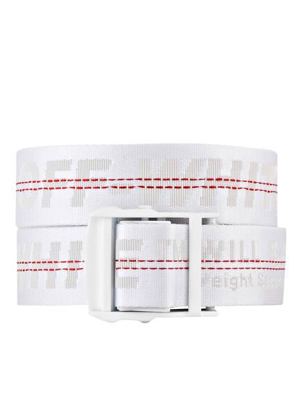 OFF-WHITE Gürtel INDUSTRIAL, Farbe: WEISS (Bild 1)