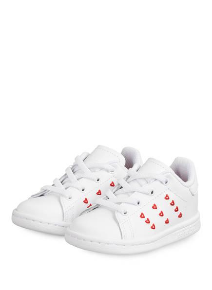 adidas Originals Sneaker STAN SMITH EL I, Farbe: WEISS/ ROT (Bild 1)