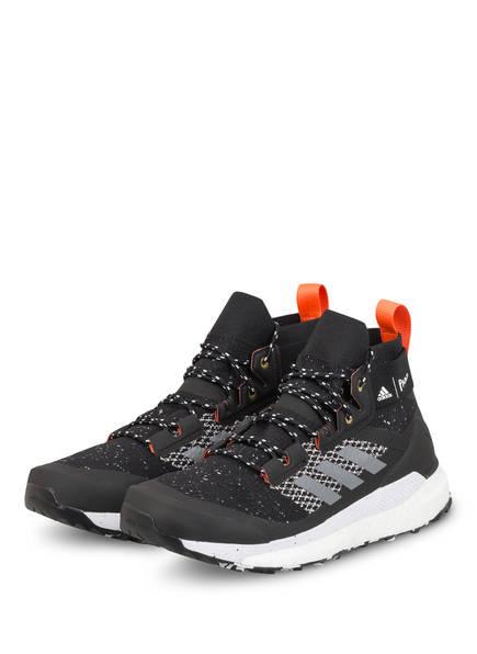 adidas Outdoor-Schuhe TERREX FREE HIKER PARLEY, Farbe: SCHWARZ (Bild 1)