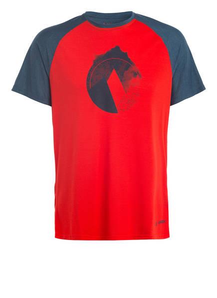 VAUDE T-Shirt TEKOA, Farbe: ROT (Bild 1)