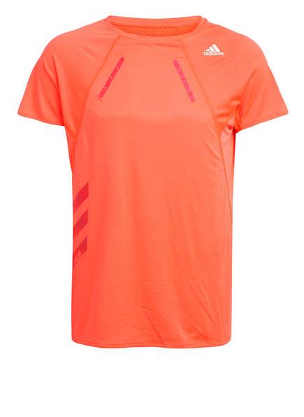 adidas Laufshirt HEAT.RDY, Farbe: ORANGE (Bild 1)