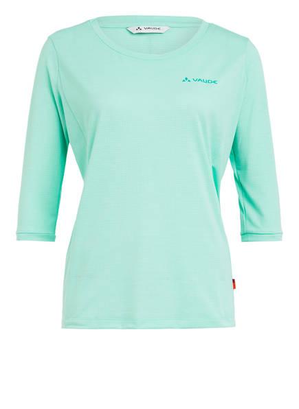 VAUDE T-Shirt SKOMER mit 3/4 Arm, Farbe: MINT (Bild 1)